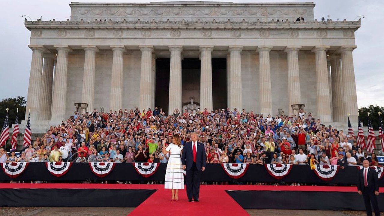 Donald Trump USA Melania