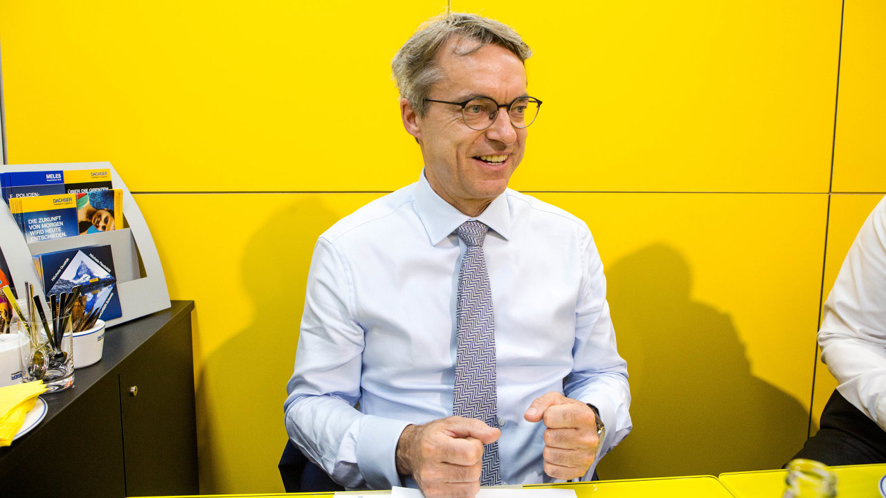 Bernhard Simon, ředitel německé logistické firmy Dachser.