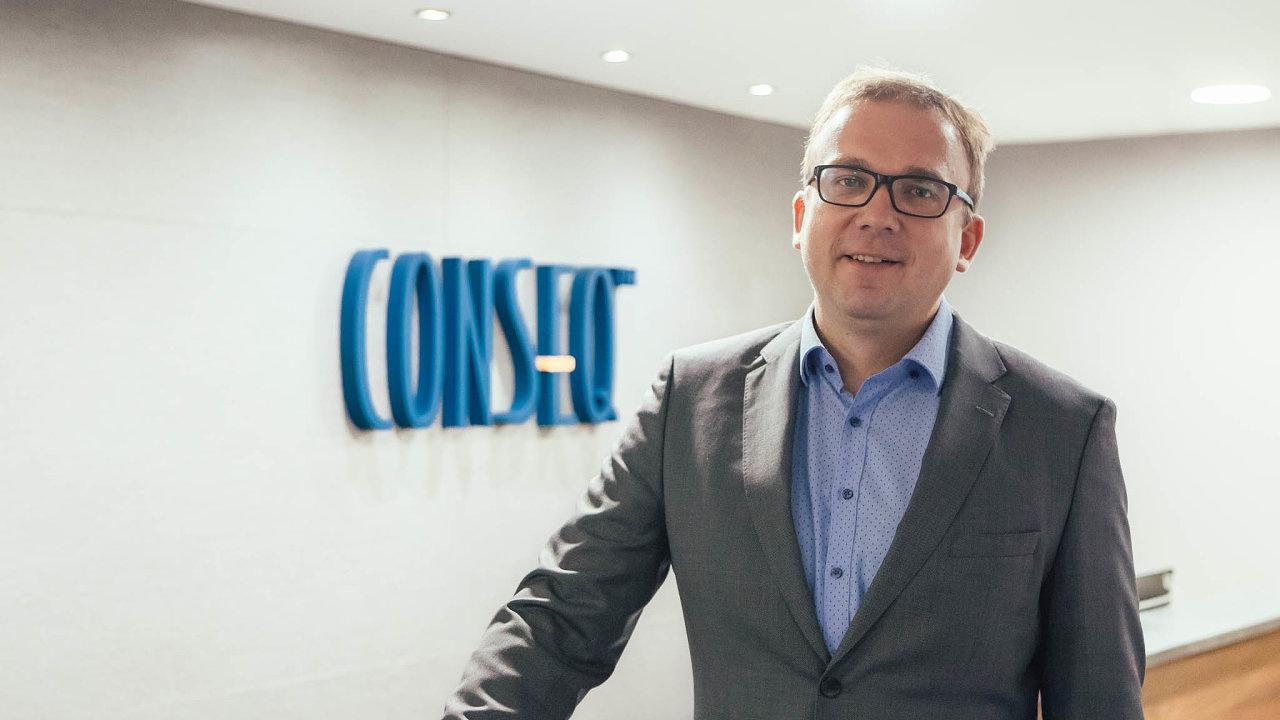 Lukáš Vácha, obchodní ředitel Consequ