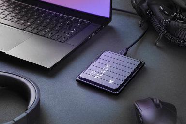 Industriální design nové řady klasických pevných disků určené hráčům WD Black připomíná přepravní vojenské kontejnery.
