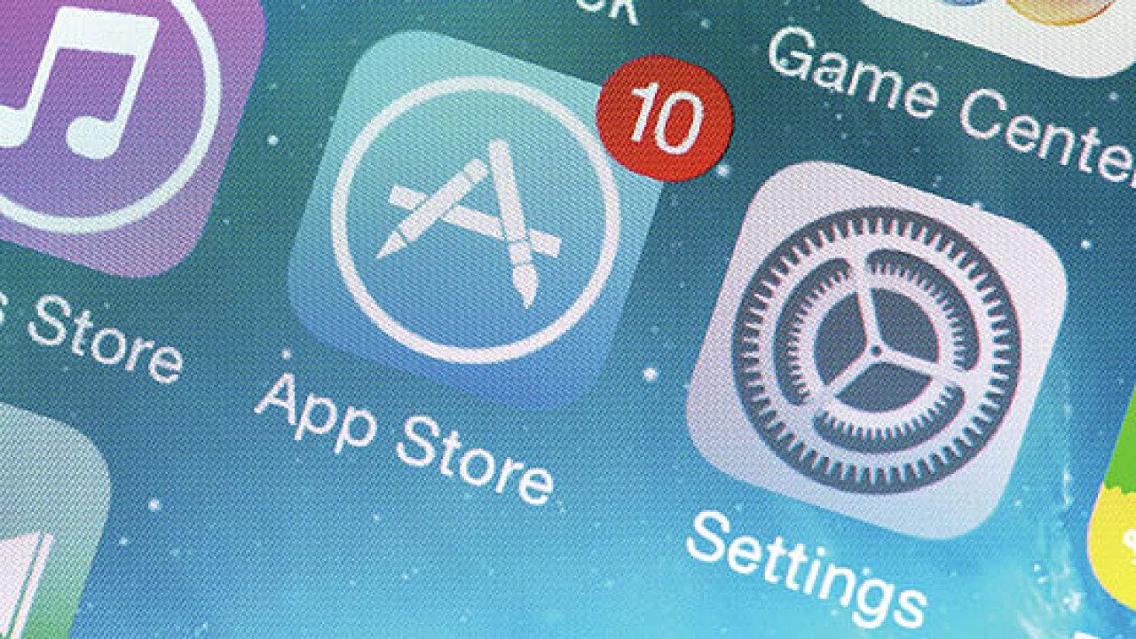 App Store. Ilustrační foto.