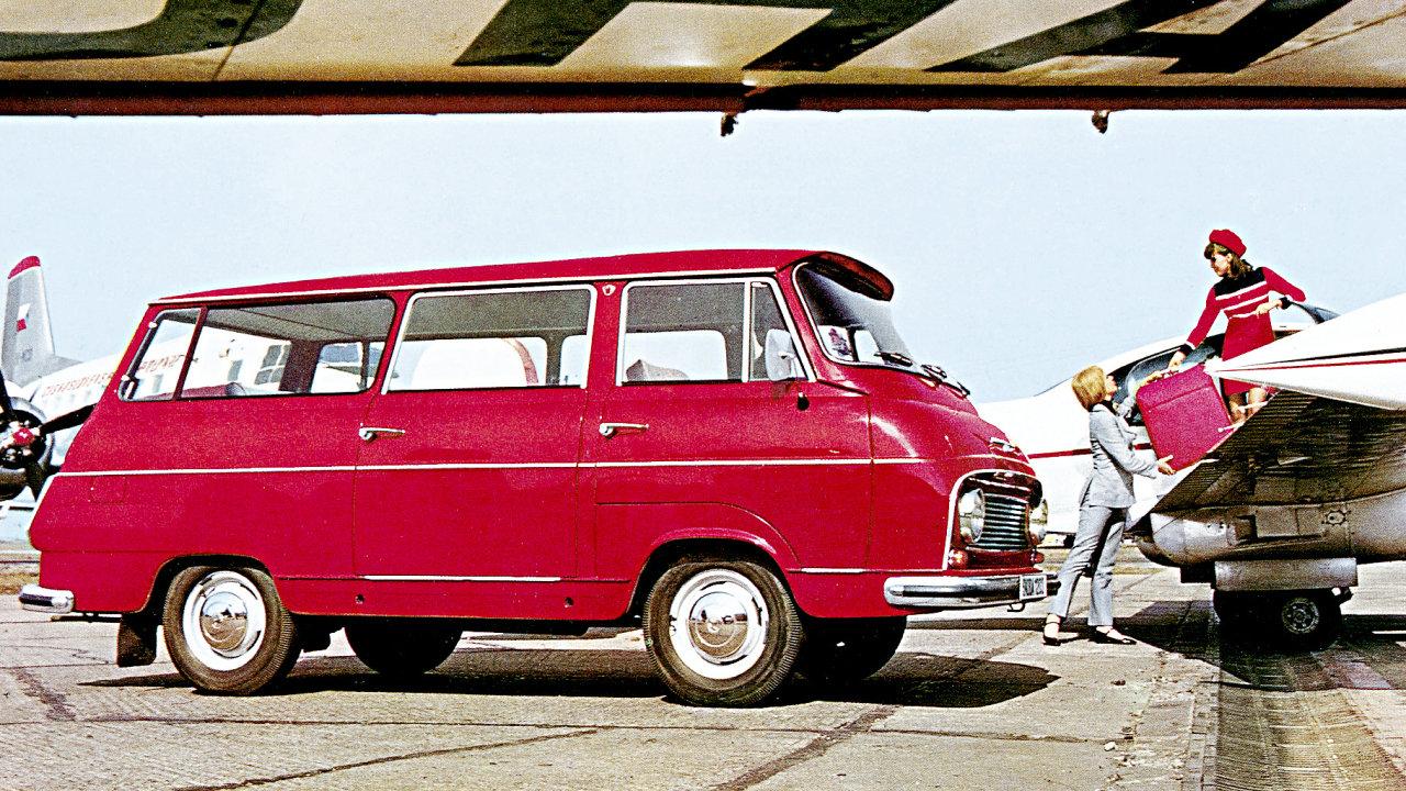 Škoda 1203 se stala nejrozšířenějším českým užitkovým automobilem 20. století, jen ve Vrchlabí vzniklo v letech 1968-1981 na 69 727 kusů