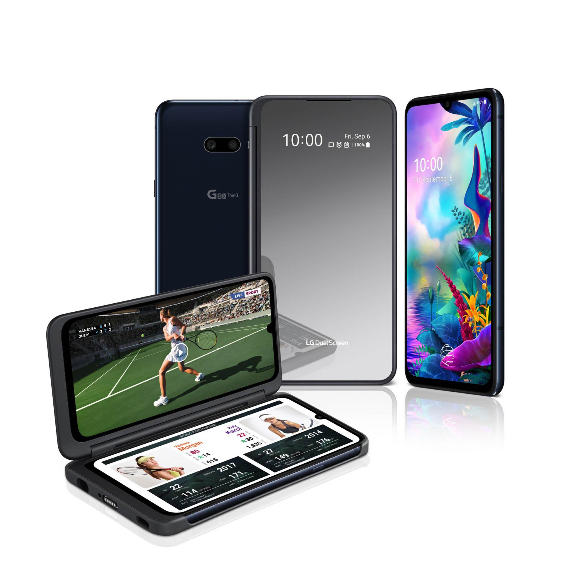 K mobilnímu telefonu LG G8X ThinQ spolu s krytem připnete i druhý displej.