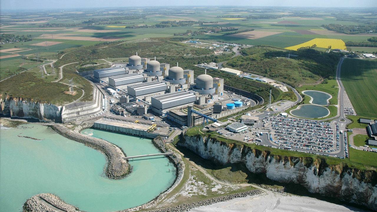 Ve Francii v současnosti stojí i část reaktorů v jaderné elektrárně Paluel v Normandii.