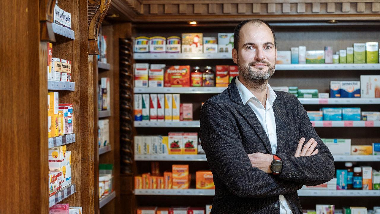 Úspěšný obchodník: Martinu Kasovi (nasnímku) ajeho bratru Petrovi se zPilulky povedlo udělat miliardový podnik.