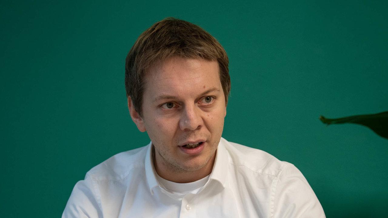 Ivo Hrdina založil JuiceUp se třemi přáteli vroce 2018.