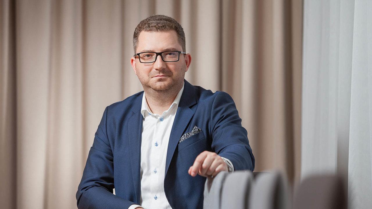 Hlavní ekonom investiční skupiny DRFG Martin Slaný.