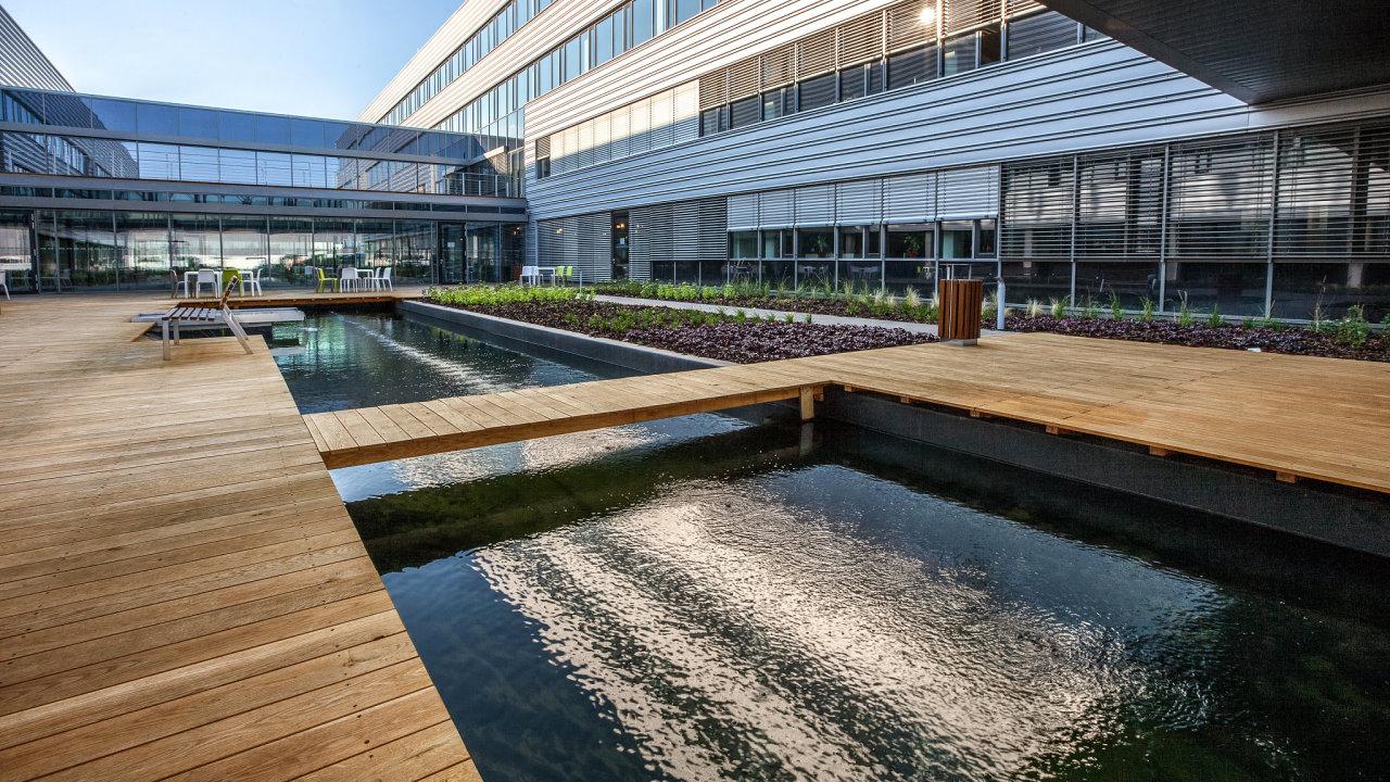 CTPark Brno, průmyslová zóna blízko dálnice D1, která splňuje přísná kritéria udržitelného rozvoje