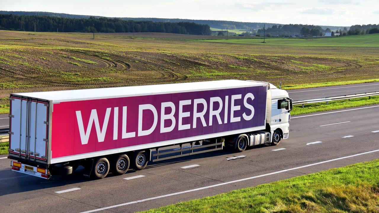 Do Evropské unie prodejce Wildberries vstoupil loni, kdy založil distribuční centrum v Polsku. Od loňského května působí na Slovensku (ilustrační snímek kamionu je z Běloruska).