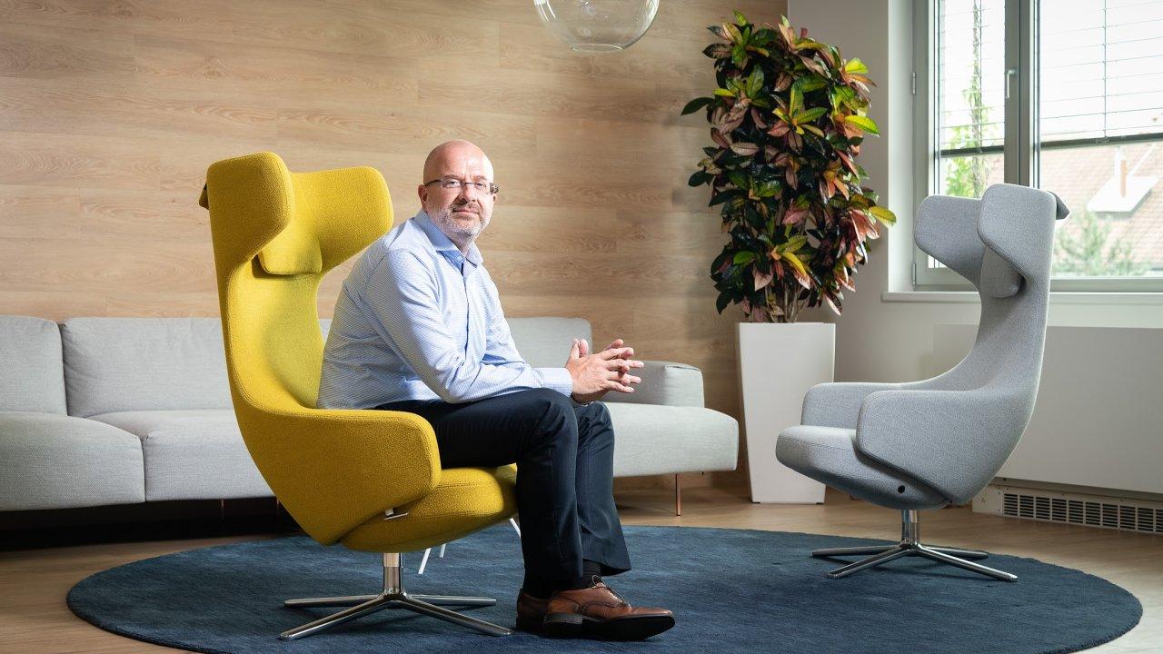 Petr Šlajchrt ze společnosti SAS
