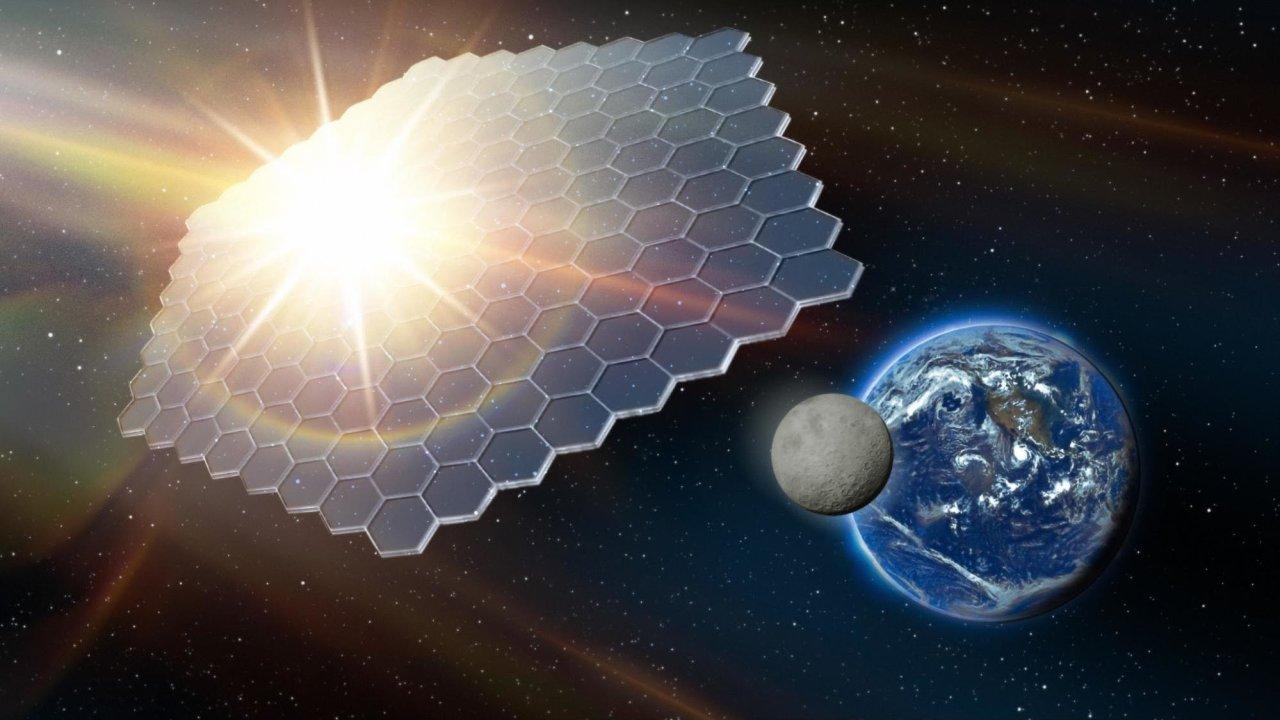 Vesmírný slunečník je zatím stále spíš sci-fi, ale v příštích desetiletích by i takové technologie už mohly být reálné.