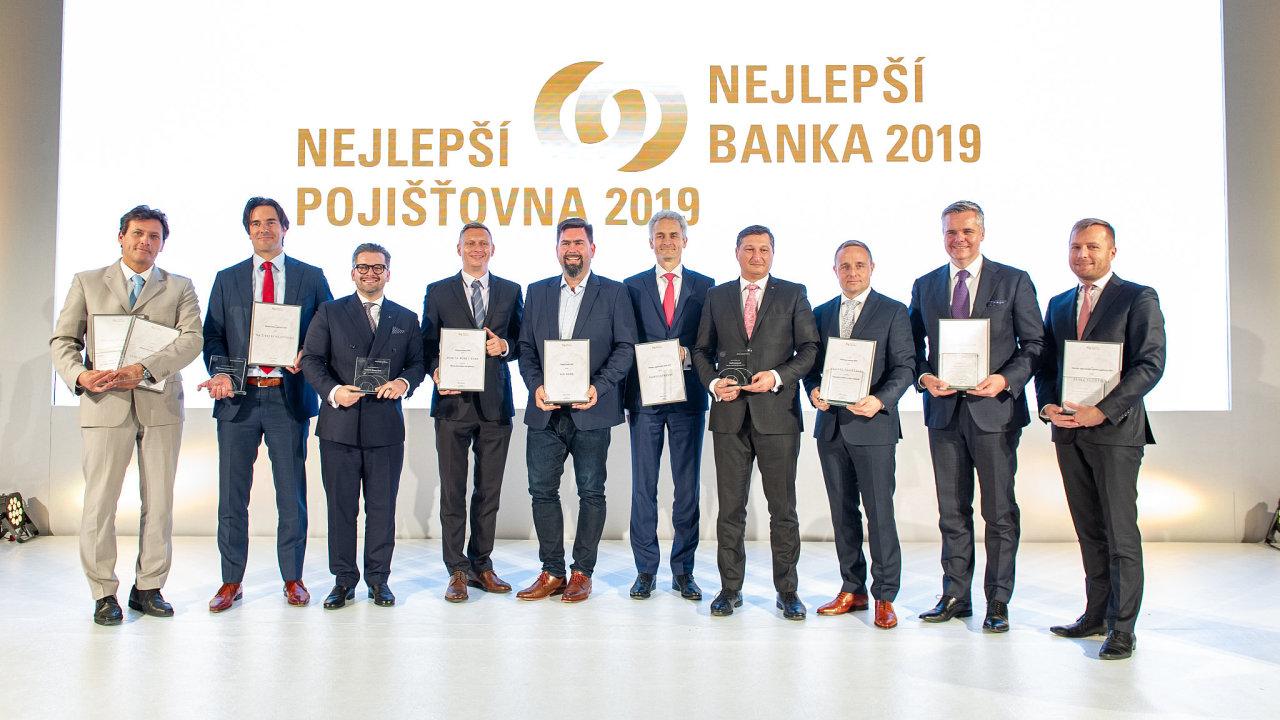 Nejlepší banka a pojišťovna