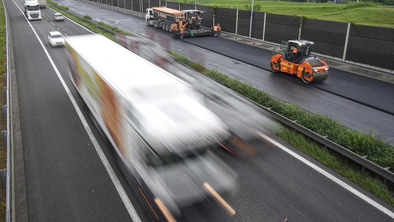 Oprava dálnice D1 v Ostravě
