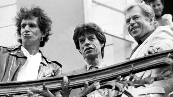 Václav Havel a The Rolling Stones