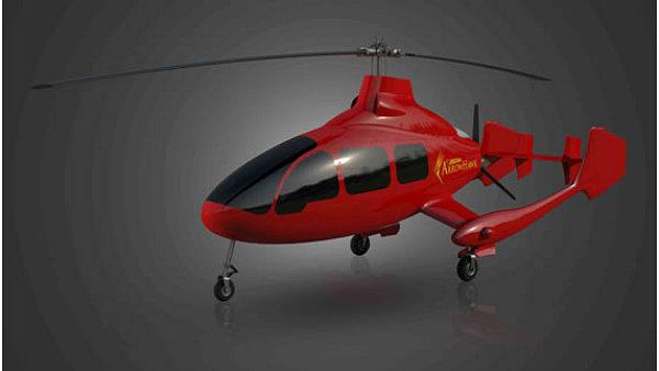 Vírník ArrowHawk od americké firmy Groen Brothers Aviation.