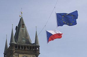 Vlajka EU, ilustrační foto
