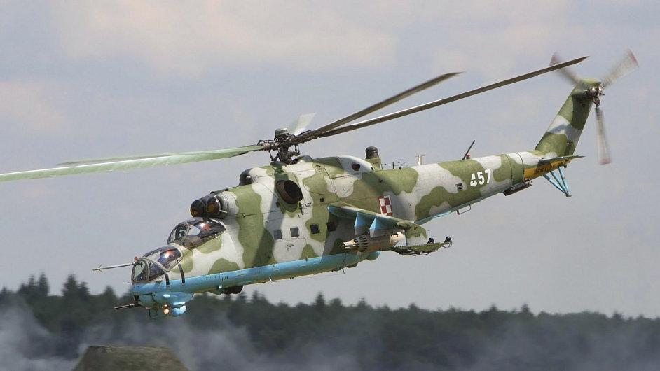 Ruský soud na členku posádky bitevního vrtulníku Mi-24 uvalil vazbu, ilustrační foto