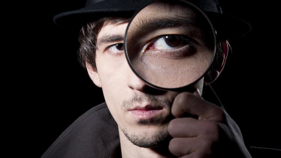 Špion. Ilustrační foto