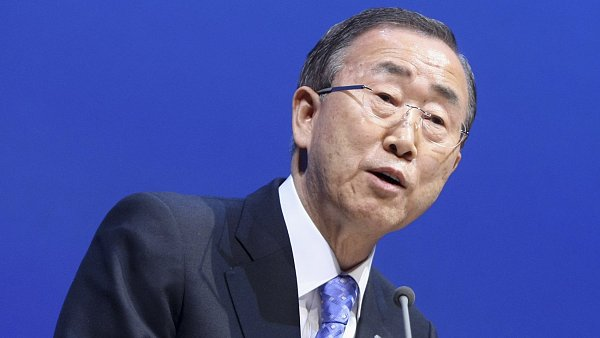 Gener�ln� tajemn�k OSN Pan Ki-mun