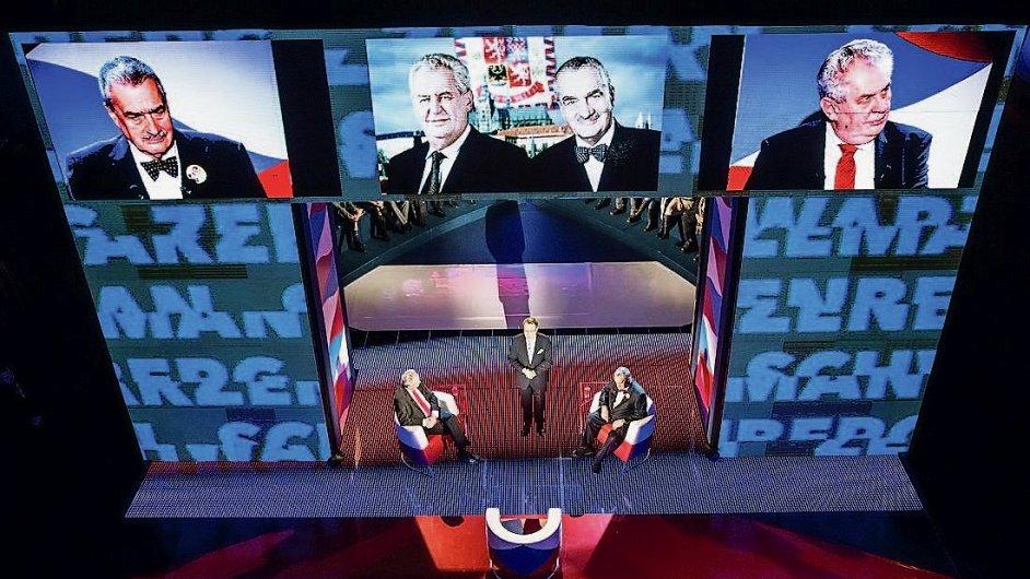 Debata prezidentských finalistů