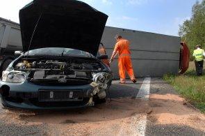 Nehoda, ilustrační foto