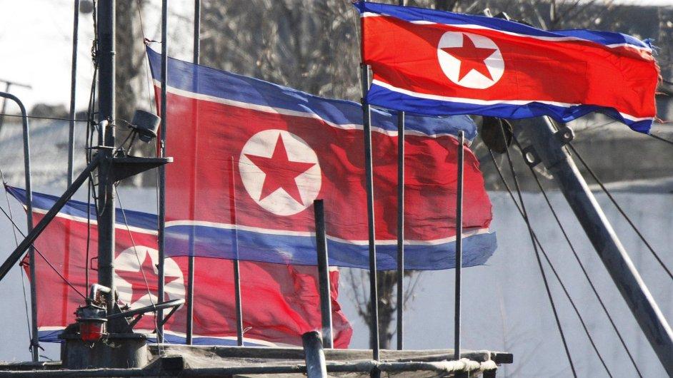 Severní Korea - ilustrační foto