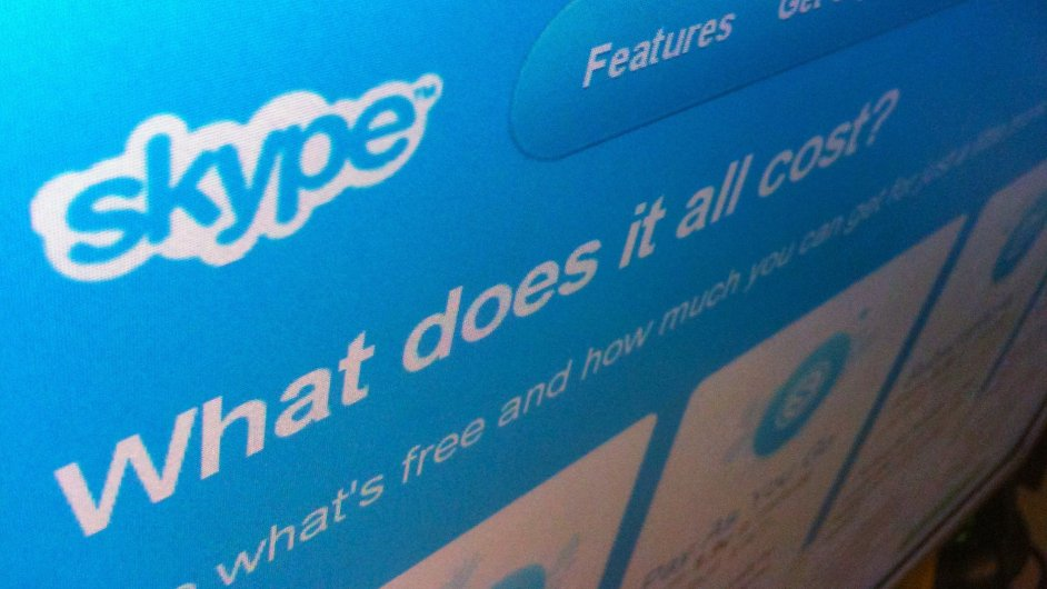 Skype (ilustrační foto)