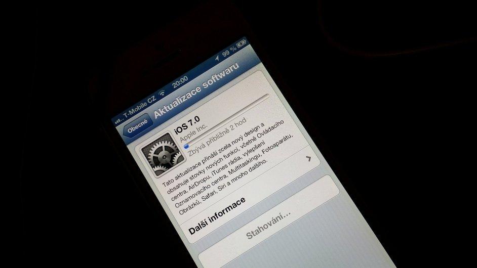 iOS 7 přichází i na starší zařízení od Applu