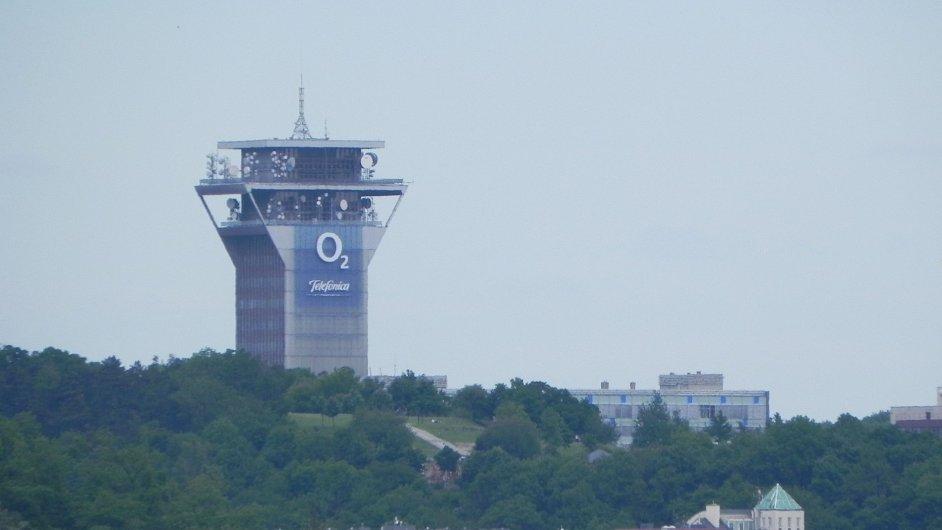 Sídlo Telefóniky O2 v Praze.
