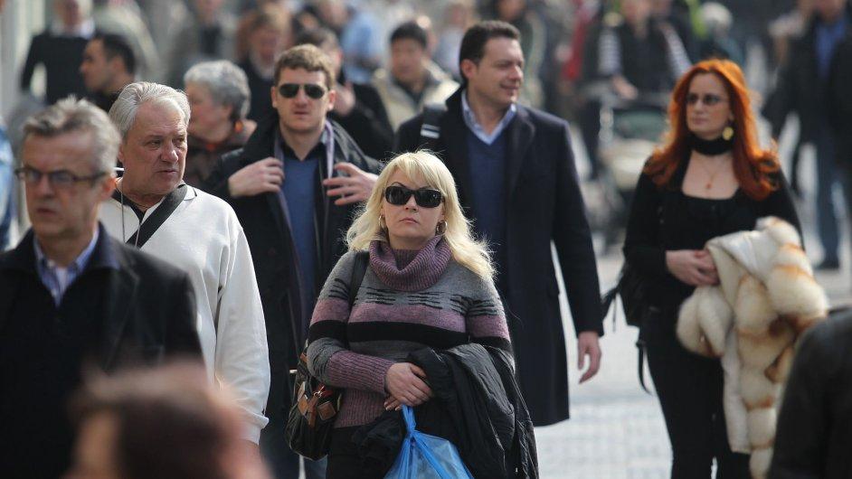 lidé, Václavské náměstí
