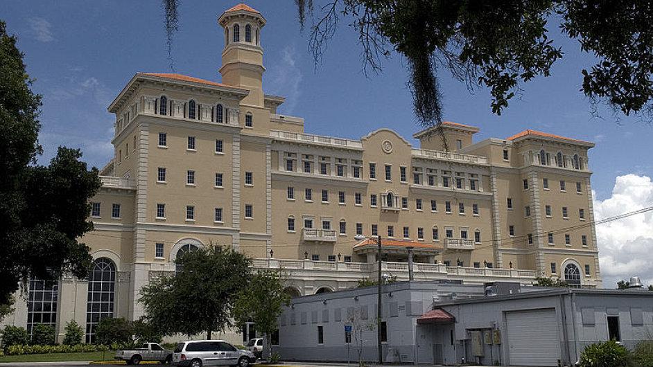 Nový chrám scientologů na Floridě