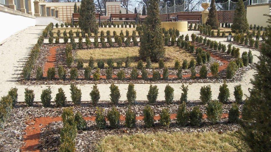 I díky penězům z ROP Střední Morava byly v Olomouci zrekonstruovány parkánové zahrady přiléhající k budovám rektorátu a Filozofické fakulty  Univerzity Palackého.
