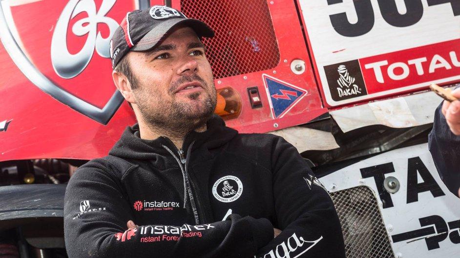 Aleš Loprais na letošním Dakaru