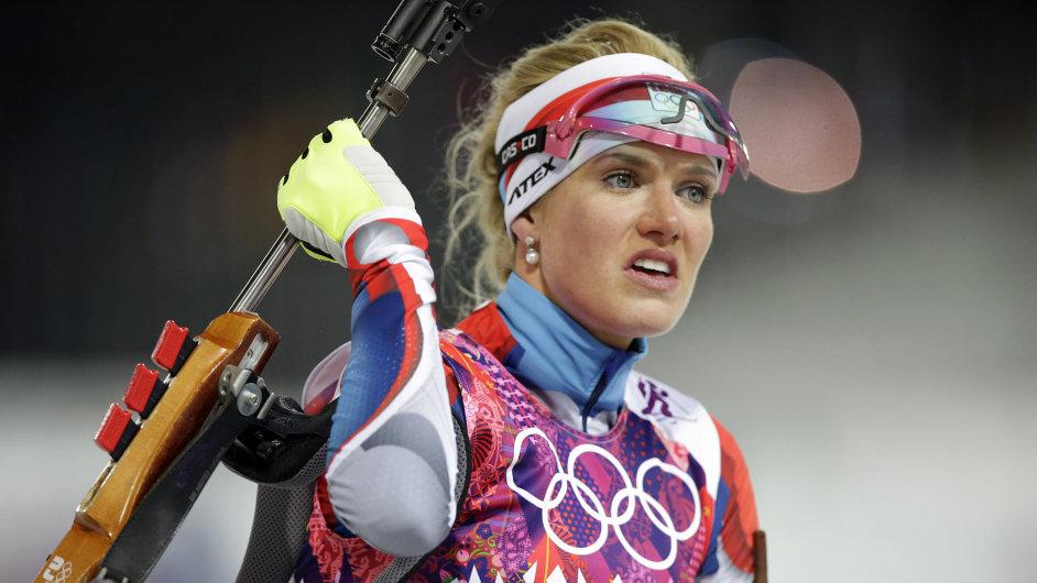 Gabriela Soukalová si vystřílela stříbro