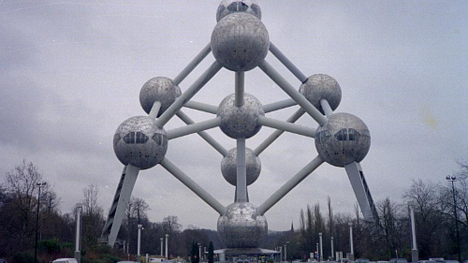 Bruselské Atomium (ilustrační foto)