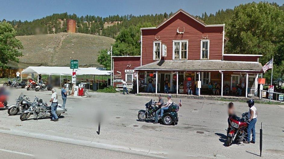 Vesnice Aladdin ve státě Wyoming ve Spojených státech