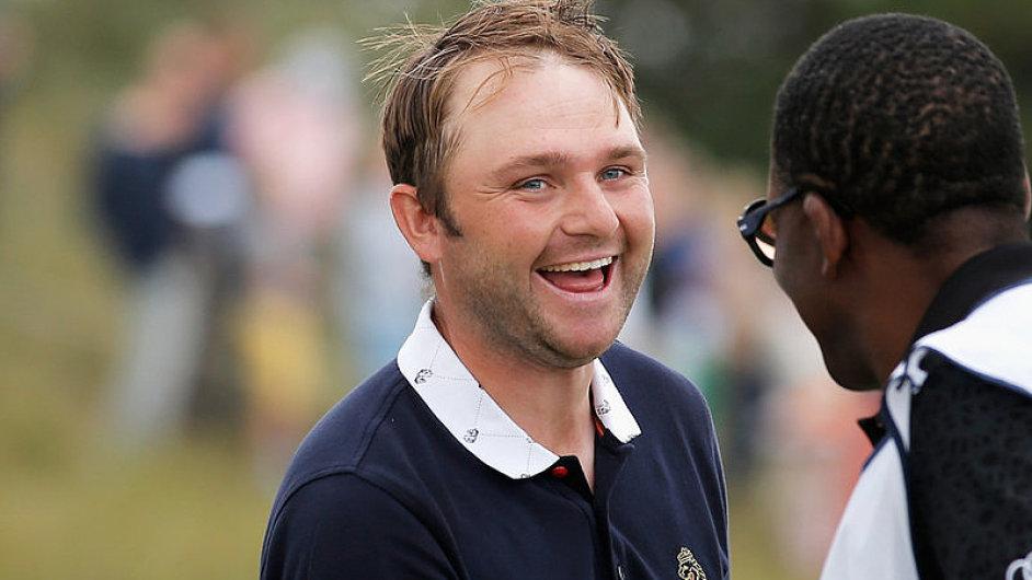 Anglický golfista Andy Sullivan