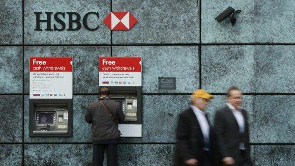 Bance HSBC loni klesl zisk o 1,2 procenta. M�e za to hlavn� situace v ��n� - Ilustra�n� foto.