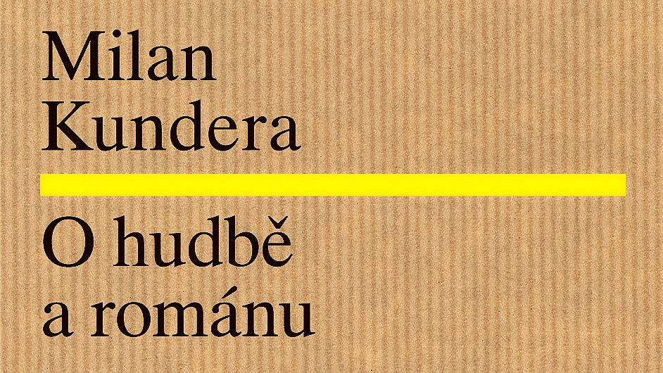 Detail obálky esejí O hudbě a románu