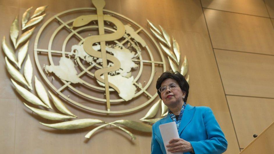 Generální ředitelka WHO Margaret Chan.
