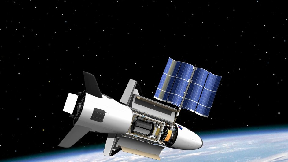 Miniraketoplán X 37B
