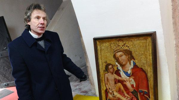 Madona z Veveří zatím zůstává v Národní galerii, do Brna ve čtvrtek nedorazí.
