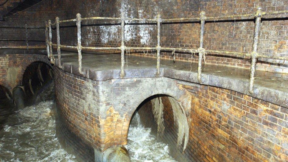 Podzemní stoka - Ilustrační foto.