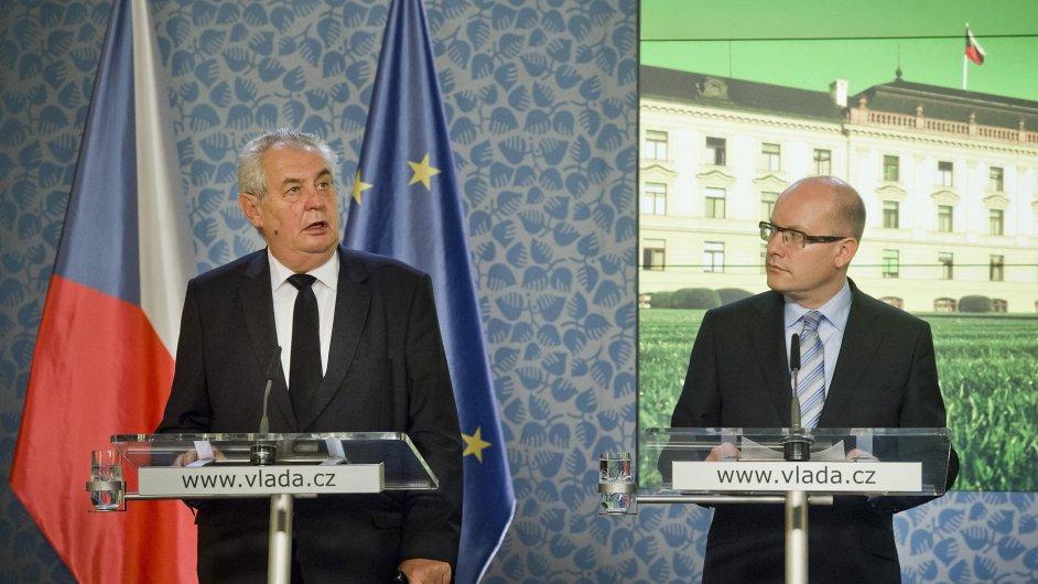 Na Nebezpeci Umime Zareagovat V Radu Hodin Ujistily Spicky Statu Zeman Zada Pevnost Evropu