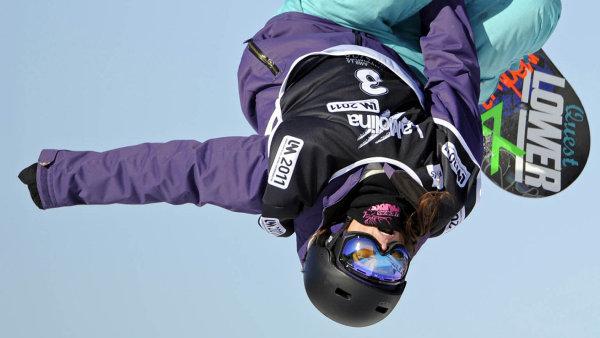 ��rka Pan�ochov�, �esk� freestylov� snowboardistka