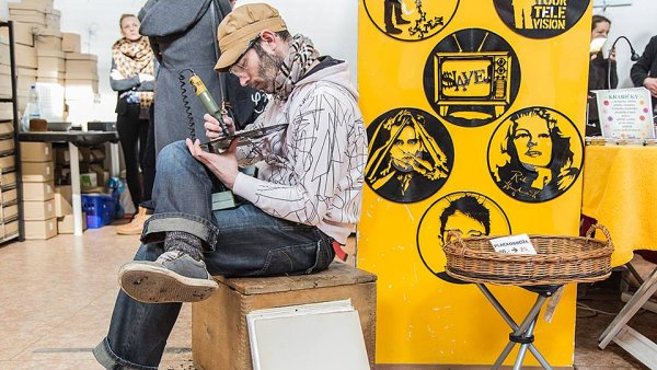 Ivan Jure�ka na premi��e akce Petit Fashion Market.
