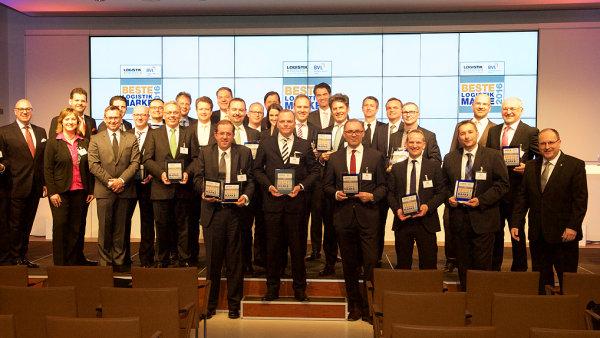 """Vítězové soutěže """"Beste Logistik Marke"""""""