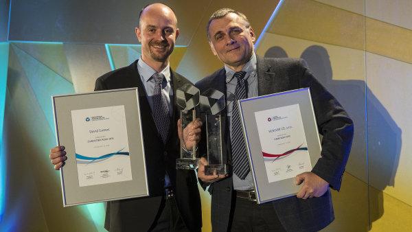 Jednatel firmy HOKAMI Josef Suska (vpravo) a živnostník David Lomos.