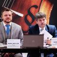 Seminář vedli seniorní advokát Martin Cír (vpravo) a partner Marc Müller z bpv Braun Partners.