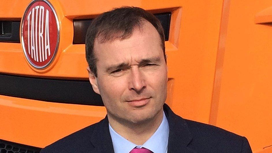 Martin Šustek, ředitel obchodu a marketingu (Chief Commercial Officer) TATRA TRUCKS